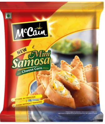McCain Mini Samosa - Cheese Corn 240 g