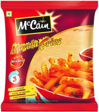 McCain Masala Fries - Hot Spicy 375 g