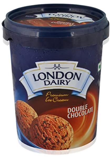 London Dairy Double Chocolate Ice Cream 500 ml Tub