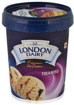 London Dairy Tiramisu Ice Cream 500 ml Tub