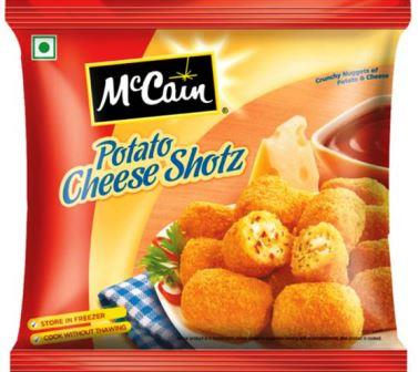 McCain Potato Cheese Shotz