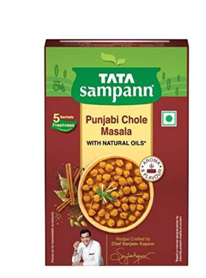 Tata Sampann Punjabi Chole Masala (With Natural Oils) - 100 g