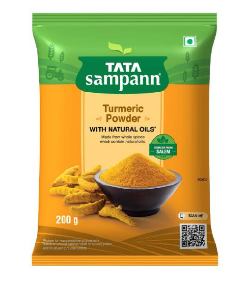 Tata Sampann Turmeric Powder (With Natural Oils) - 200 g