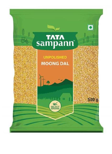 Tata Sampann Moong Dal (Unpolished) - 500 g