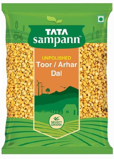 Tata Sampann Toor / Arhar Dal (Unpolished) - 1 Kg