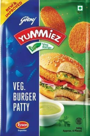Yummiez Veg Burger patty 360 g