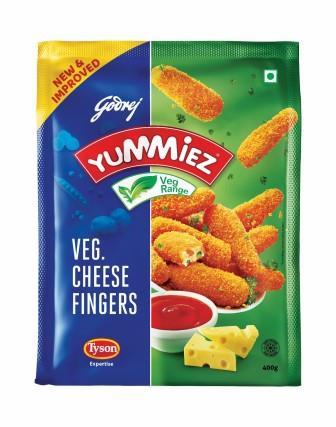 Yummiez Veg Cheese Finger 400 g