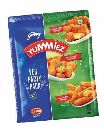 Yummiez Veg Party Pack 600 g