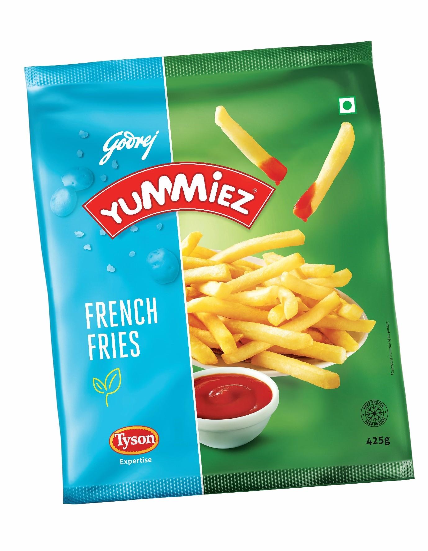 Yummiez French Fries 425 g