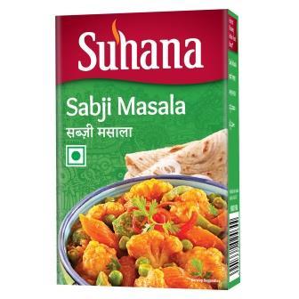 Suhana Sabji Masala 50g Box