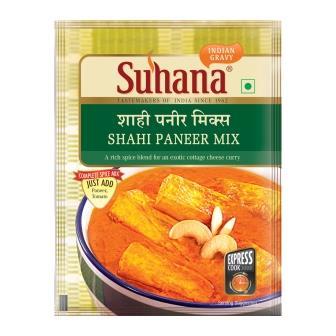 Suhana Shahi Paneer Spice Mix 50g Pouch