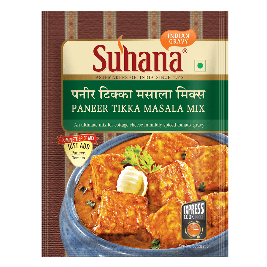 Suhana Paneer Tikka Spice Mix 50g Pouch
