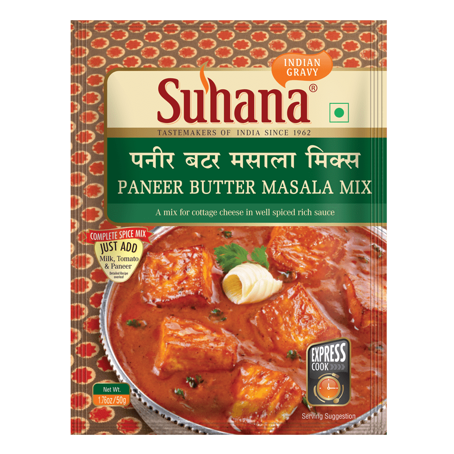 Suhana Paneer Butter Spice Mix 50g Pouch
