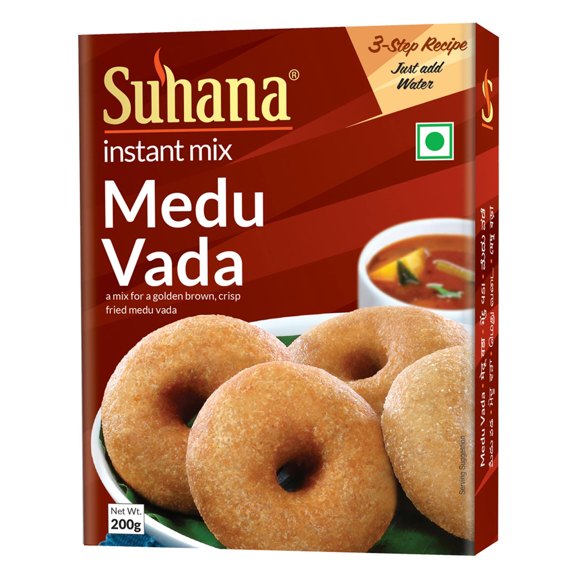 Suhana Medu Vada Mix 200g Box