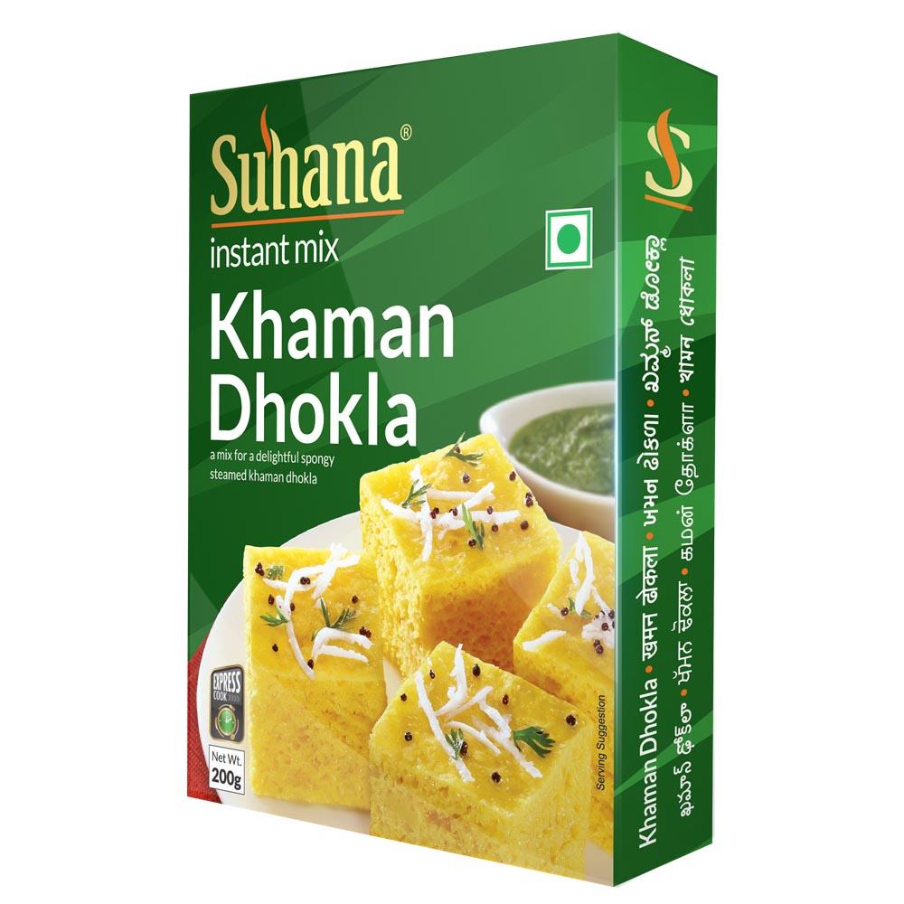 Suhana Khaman Dhokla Mix 200g Box