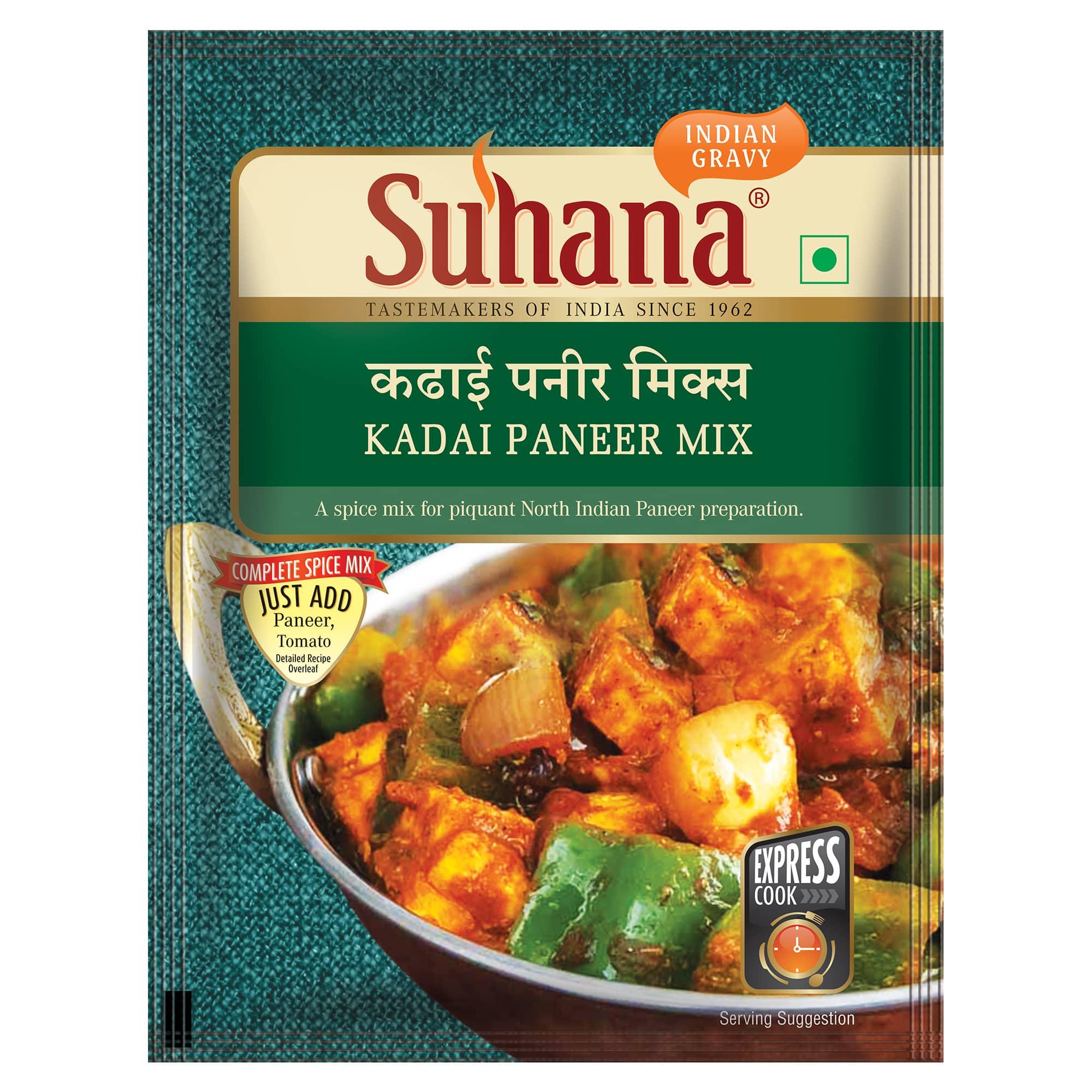 Suhana Kadai Paneer Spice Mix 50g Pouch