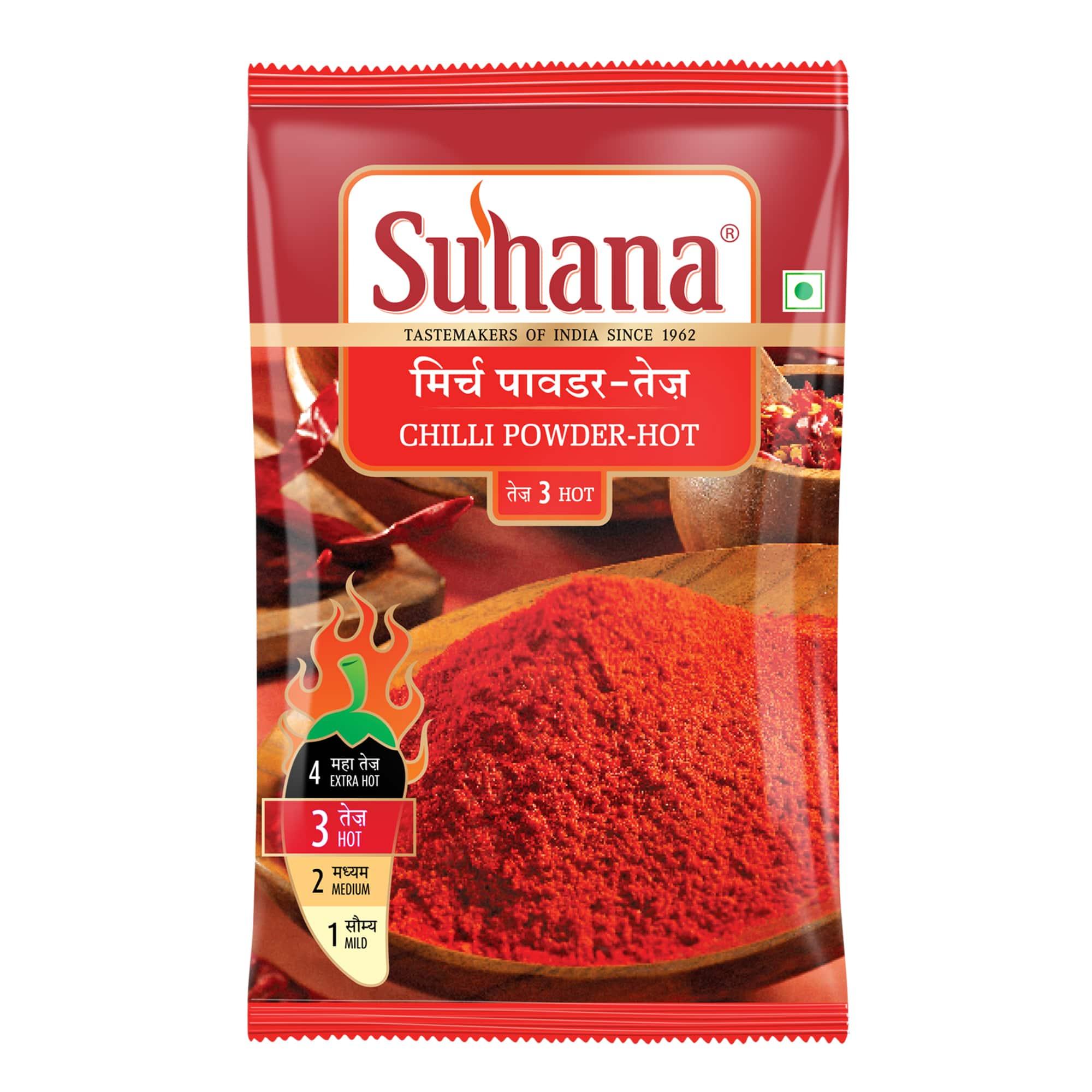 Suhana Hot Chilli Powder Pouch