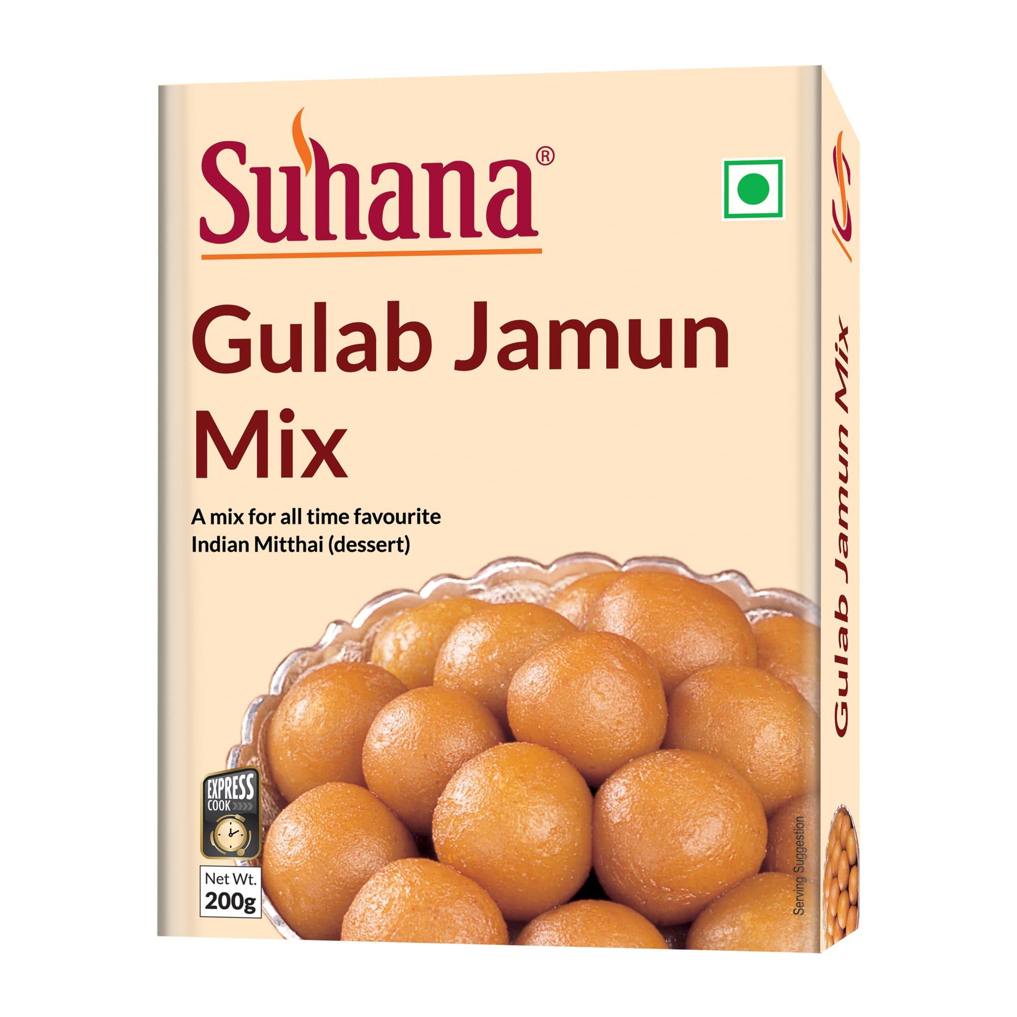 Suhana Gulab Jamun Mix 150g Box