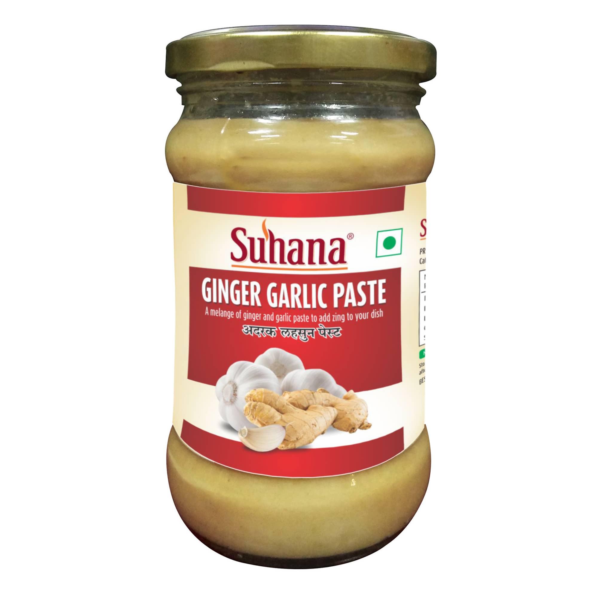 Suhana Ginger Garlic Paste Jar