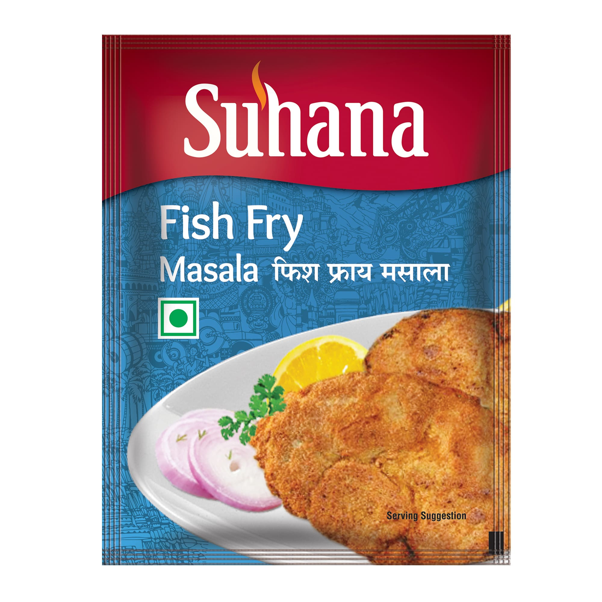 Suhana Fish Fry Spice Mix 50g Pouch