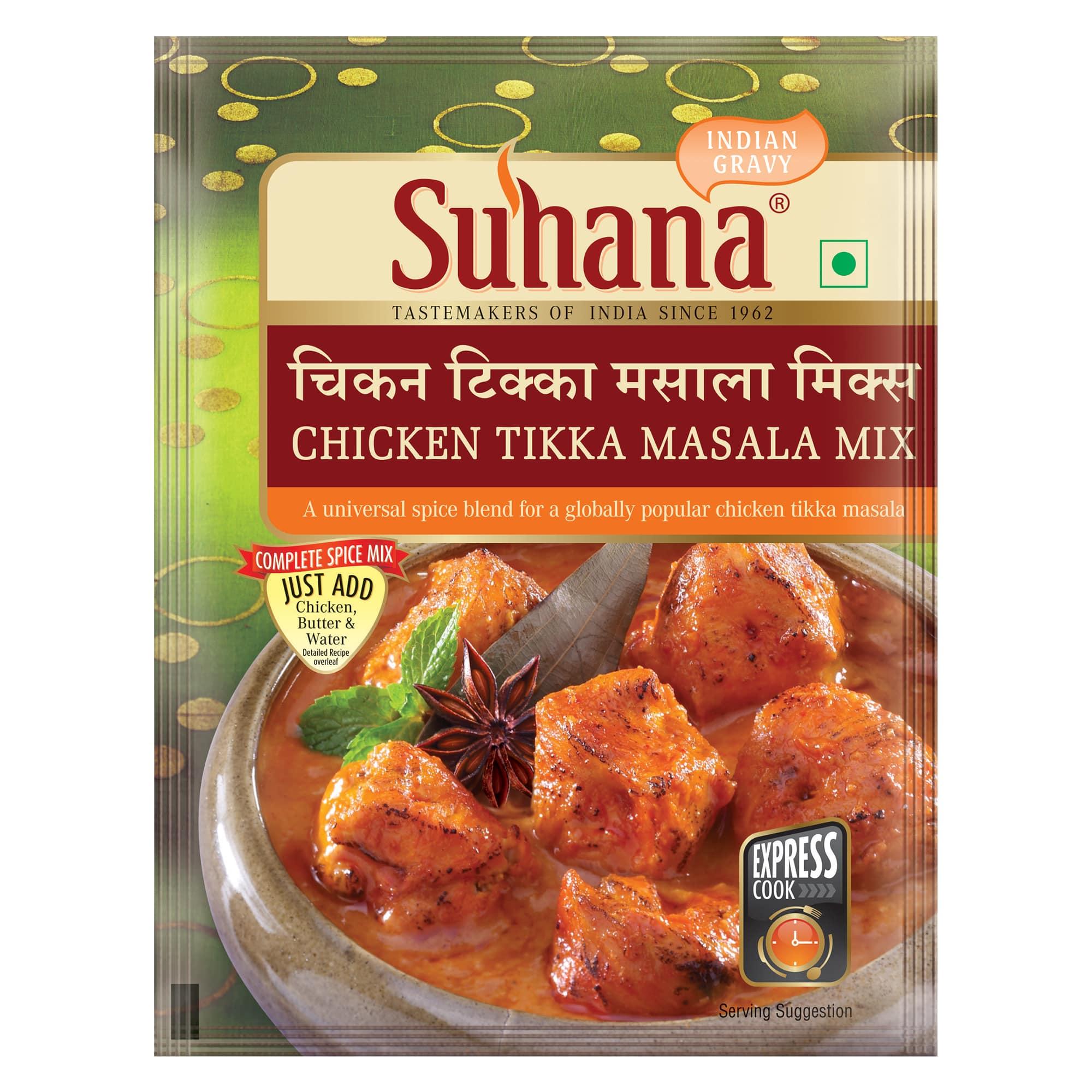 Suhana Chicken Tikka Spice Mix 80g Pouch