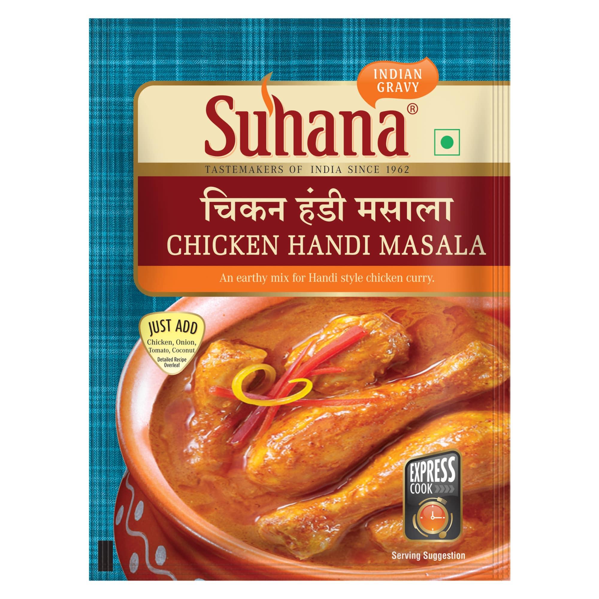 Suhana Chicken Handi Spice Mix 50g Pouch