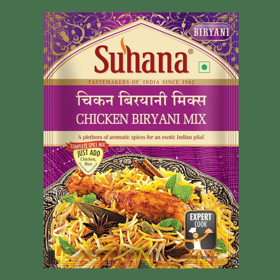 Suhana Chicken Biryani Spice Mix 50g Pouch