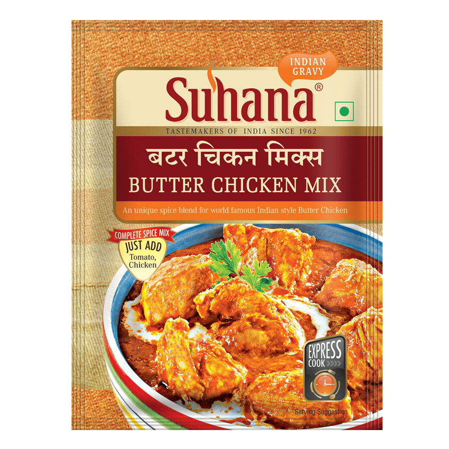 Suhana Butter Chicken Spice Mix 50g Pouch