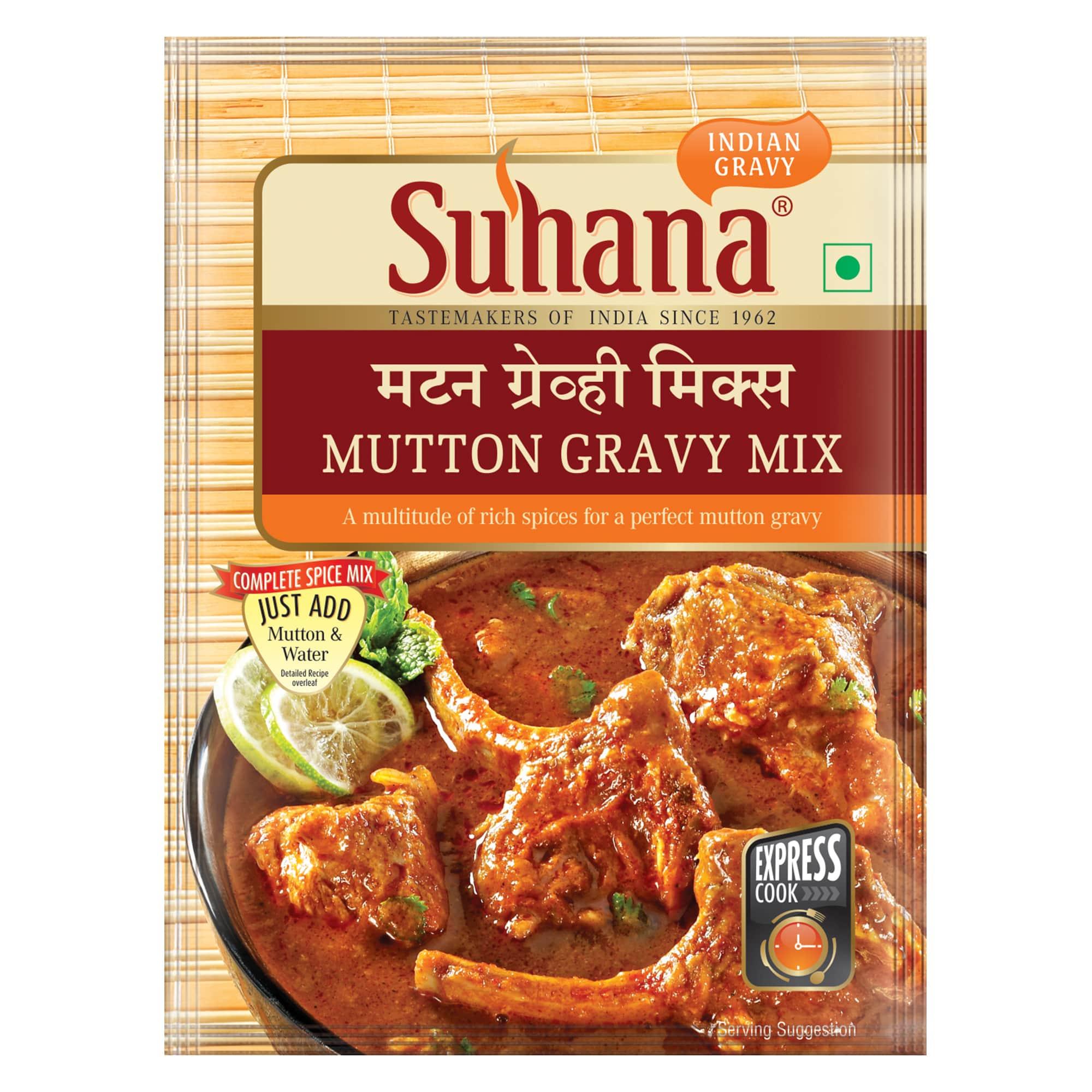 Suhana Mutton Gravy Spice Mix 80g Pouch