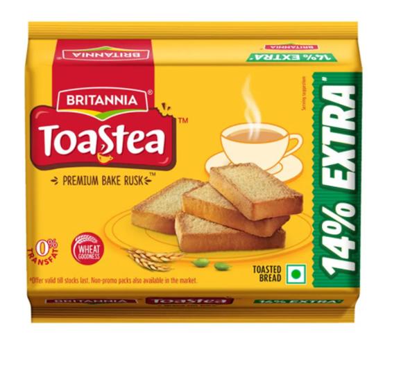 Britannia Toastea Premium Bake Rusk  72 g