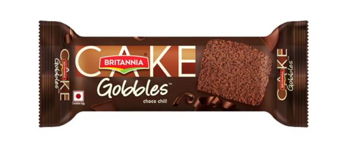 Britannia Gobbles Choco Chill  Cake 55 g