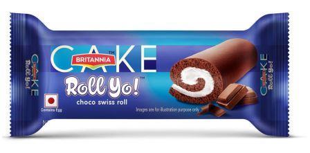 Britannia Cake Roll Yo - Choco Swiss Roll 30 g