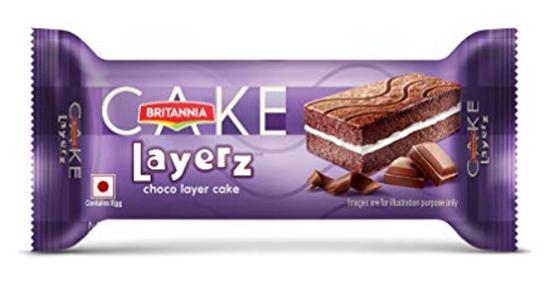 Britannia Layerz - Choco Layer Cake 25 g