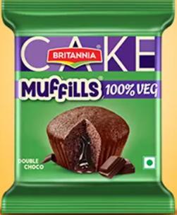 Britannia Muffills - Double Choco 35 g