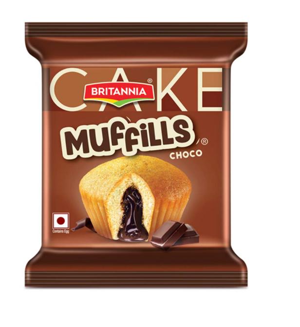 Britannia Muffills - Choco 35 g