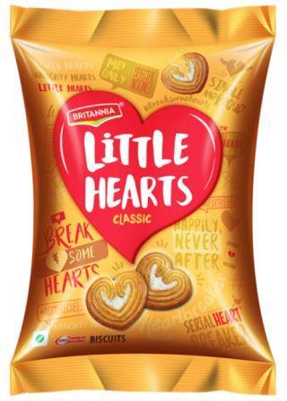 Britannia Little Hearts Biscuits 34.5 g