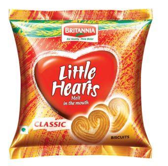 Britannia Little Hearts Biscuits 20 g