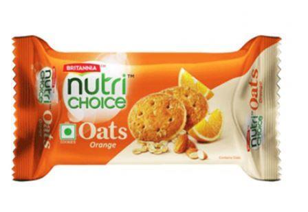 Britannia Nutri Choice Oats - Orange 75 g