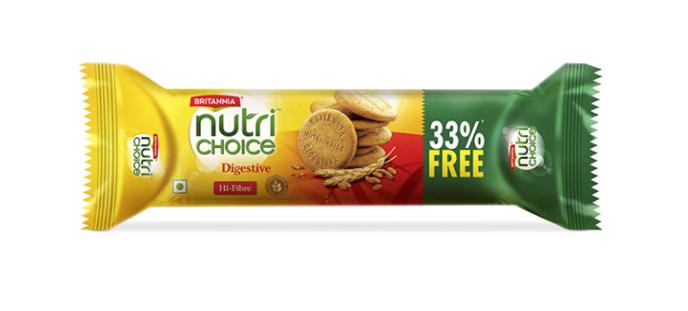 Britannia Nutri Choice Digestive Biscuits 250 g