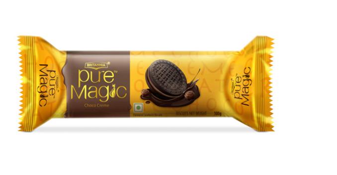 Britannia Pure Magic Choco Creme Biscuits 100 g