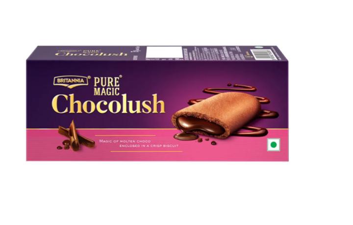 Britannia Pure Magic Chocolush Biscuits 75 g
