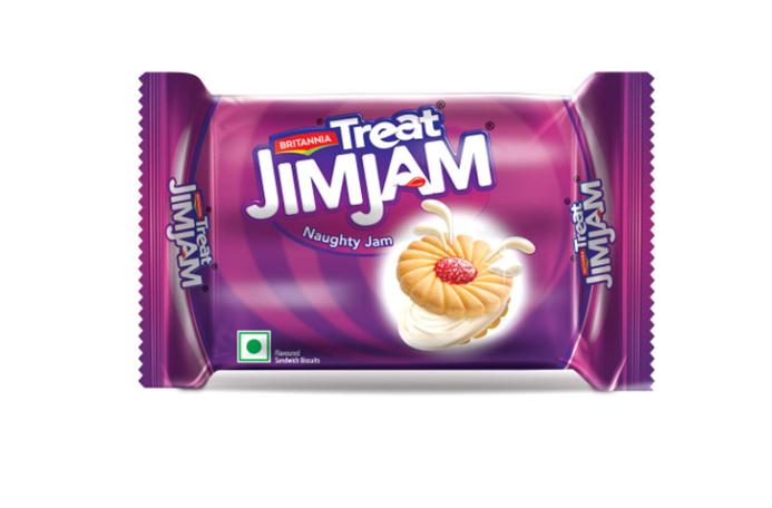 Britannia Treat Jim Jam - Naughty Jam Biscuits 150 g