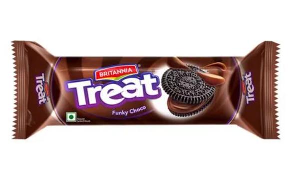 Britannia Treat Funky Choco Cream Biscuits