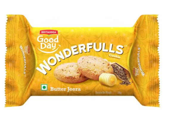 Britannia Good Day Wonderfulls - Butter Jeera 75 g