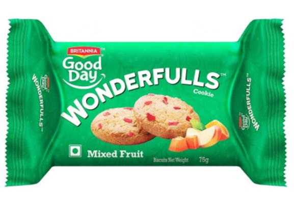 Britannia Good Day Wonderfulls - Mixed Fruit 75 g