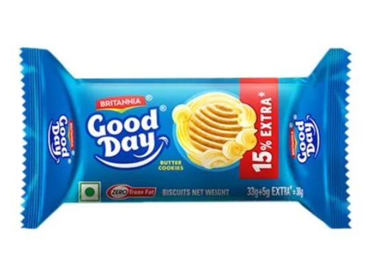Britannia  Good Day Butter Cookies 33 g