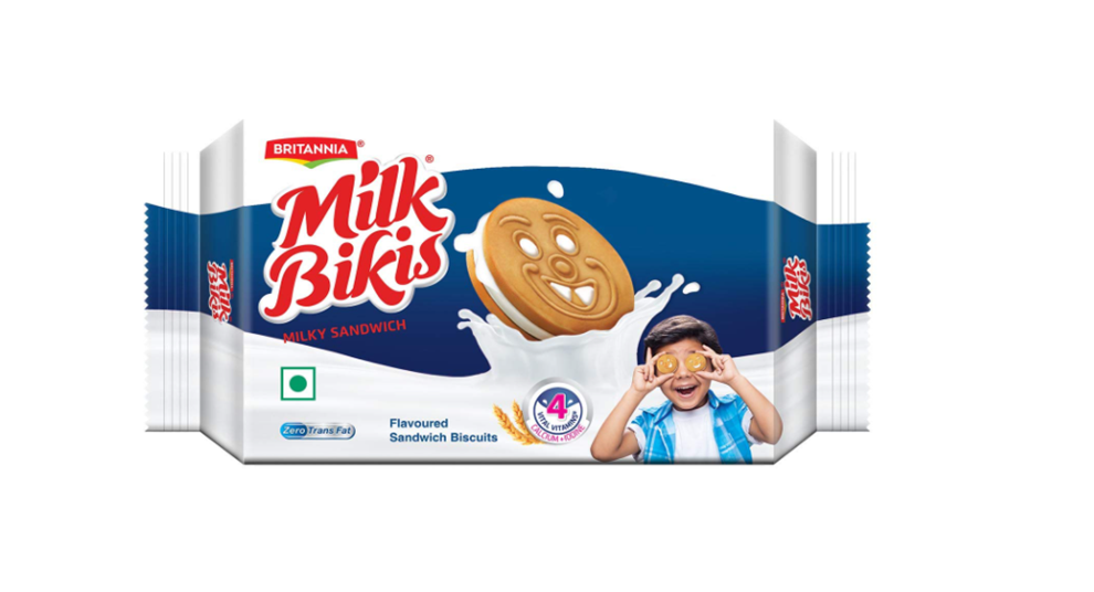 Britannia  Milk Bikis Milky Sandwich Biscuits 200 g