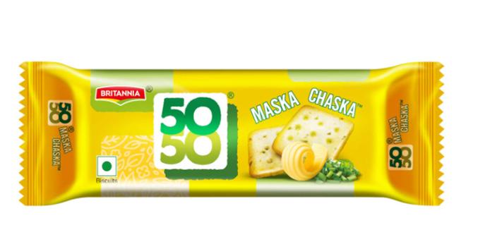 Britannia 50 50 Maska Chaska Biscuits 50 g