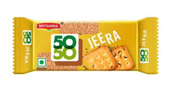 Britannia 50 50 Jeera Biscuits
