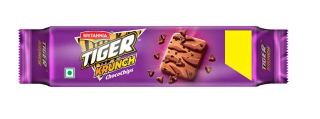 Britannia Tiger  Krunch Chocochips Biscuits 80 g